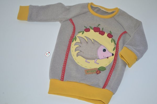 "Pullover ""Igel im Herbst"""